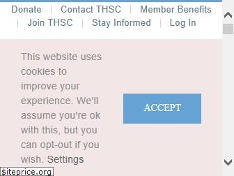 www.thsc.org website price