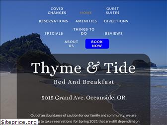 thyme-and-tide.com