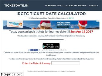 ticketdate.in