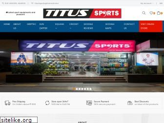 titussports.co.in