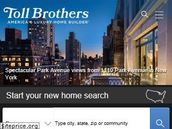 tollbrothers.com