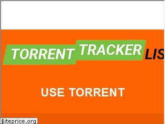 torrenttrackerlist.com