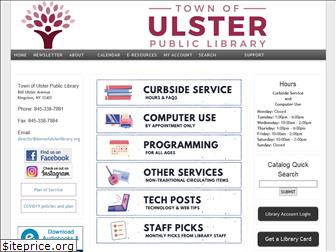 townofulsterlibrary.org