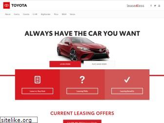 toyotalease4less.com