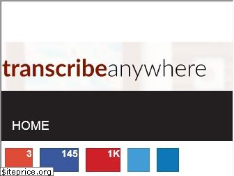 transcribeanywhere.com