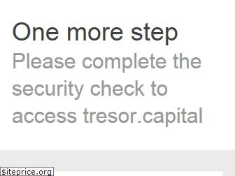 www.tresor.capital website price
