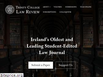 trinitycollegelawreview.org