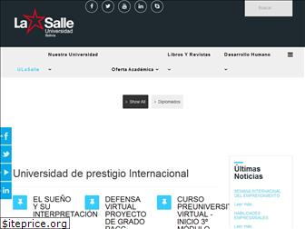 www.ulasalle.edu.bo website price