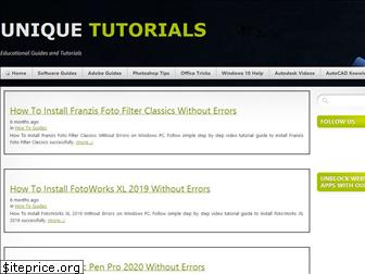 unique-tutorials.info