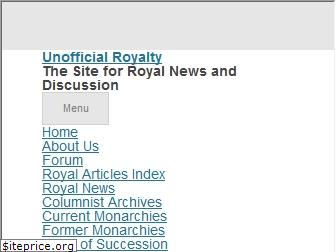 unofficialroyalty.com