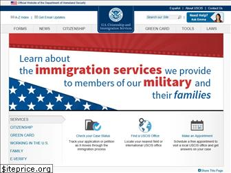 www.uscis.gov website price