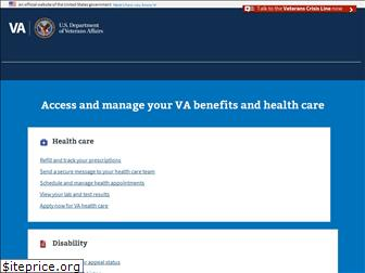 www.va.gov website price