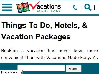 vacationsmadeeasy.com