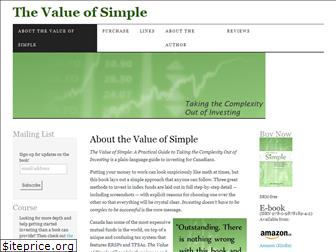 valueofsimple.ca