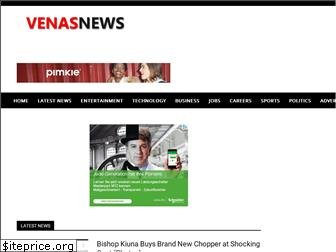 www.venasnews.co.ke website price