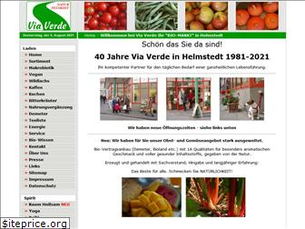 www.viaverde.de website price
