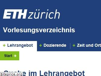www.vvz.ethz.ch website price