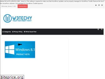 www.w3techy.com.ng website price