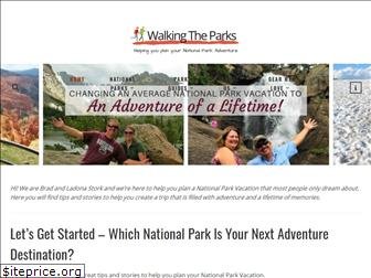 walkingtheparks.com