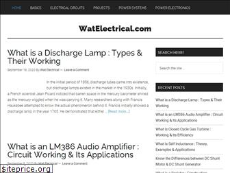watelectrical.com