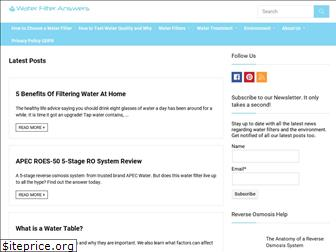 waterfilteranswers.com