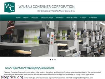 wausaucontainer.com