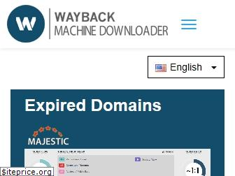 waybackmachinedownloader.com