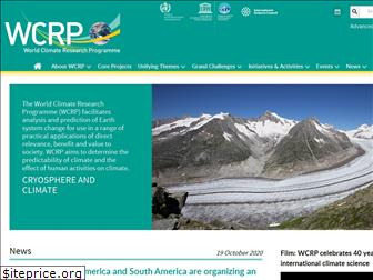 wcrp-climate.org