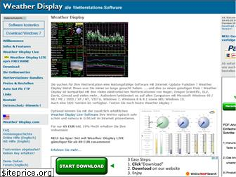 www.weather-display.de website price