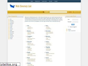 www.webdirectorylist.net website price