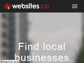 www.websites.ca website price