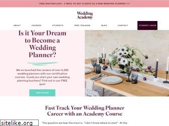 weddingacademyglobal.com