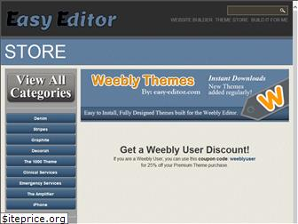 www.weebly-themes.net website price