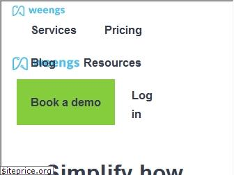 www.weengs.co.uk website price
