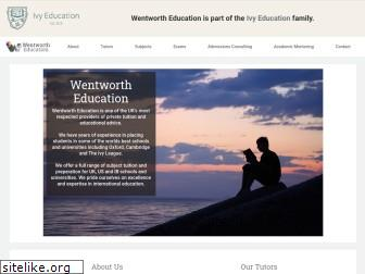 wentwortheducation.com