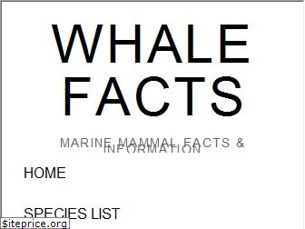 whalefacts.org