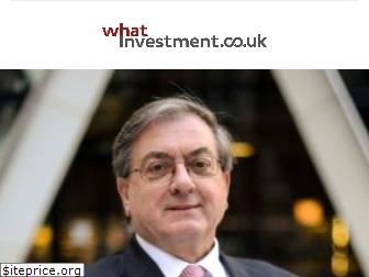 whatinvestment.co.uk