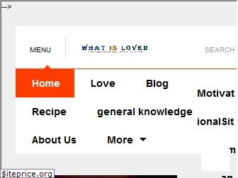 whatisloved.com