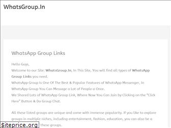 whatsgroup.in