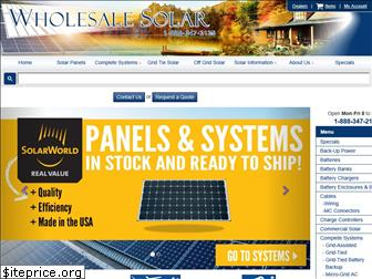 wholesalesolar.com