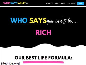 whosayswhat.co
