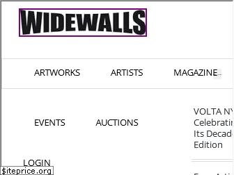 www.widewalls.ch website price