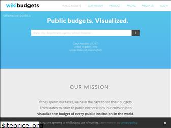 wikibudgets.org