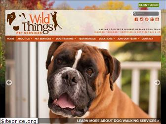 wildthingspetservices.com