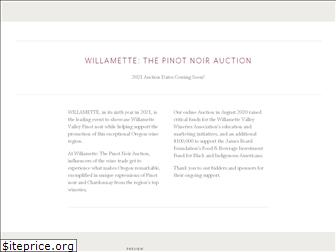 willamettewines.auction