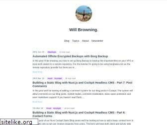 willbrowning.me