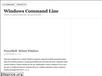 windows-commandline.com