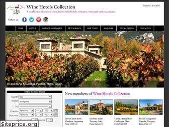 winehotelscollection.com