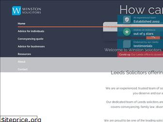 winstonsolicitors.co.uk