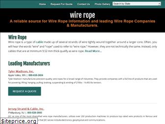 wire-rope.org